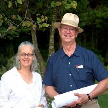 Anita with Frank Harmon