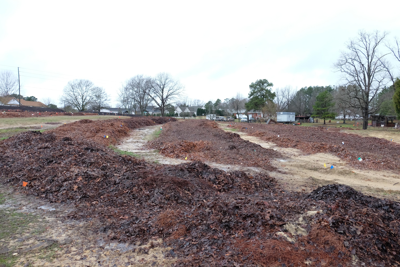 Soil preparation for the new garden section at jlbg for Preparation of soil